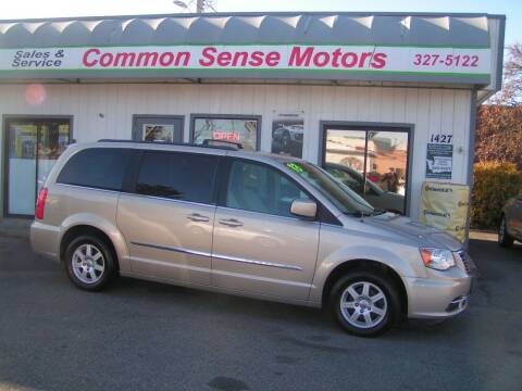 2013 Chrysler Town and Country for sale at Common Sense Motors in Spokane WA
