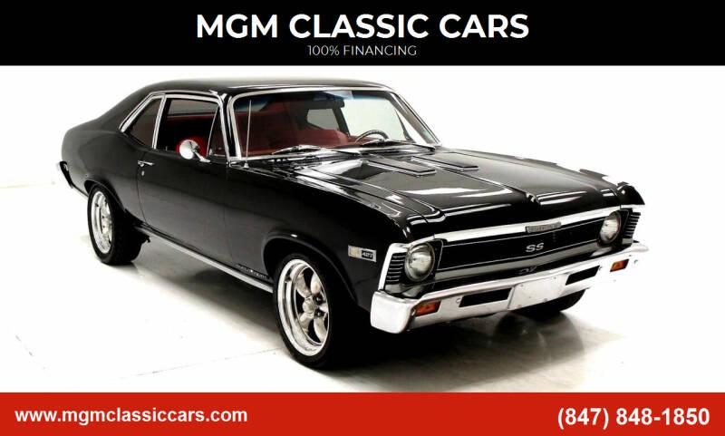 1968 Chevrolet Nova for sale at MGM CLASSIC CARS in Addison, IL