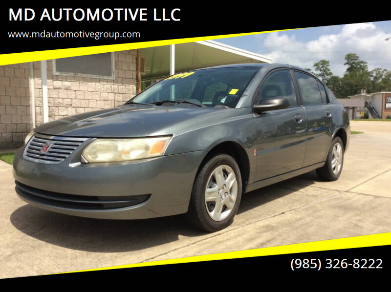 2007 Saturn Ion for sale at MD AUTOMOTIVE LLC in Slidell LA