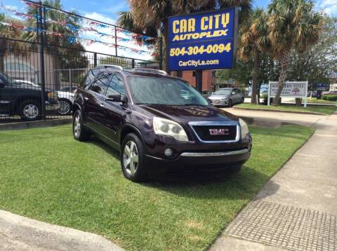 2009 GMC Acadia for sale at Car City Autoplex in Metairie LA