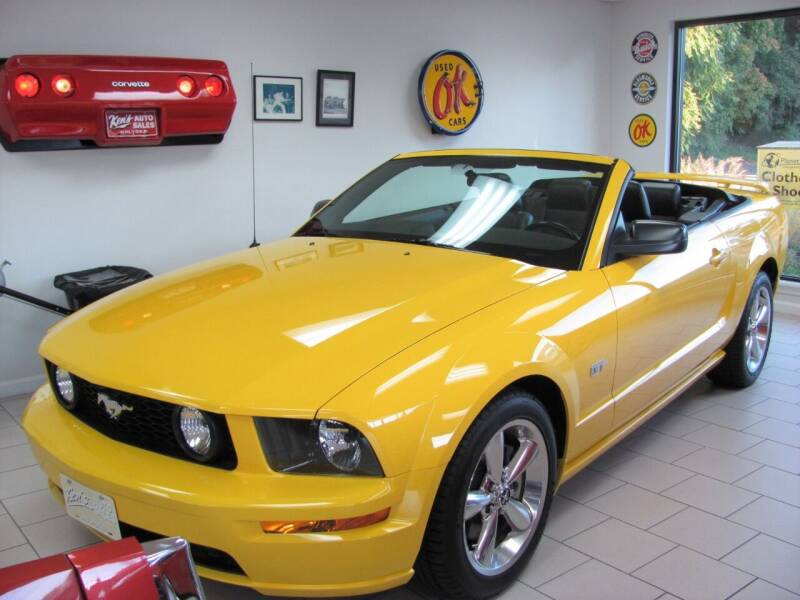 2006 Ford Mustang for sale at Kens Auto Sales in Holyoke MA