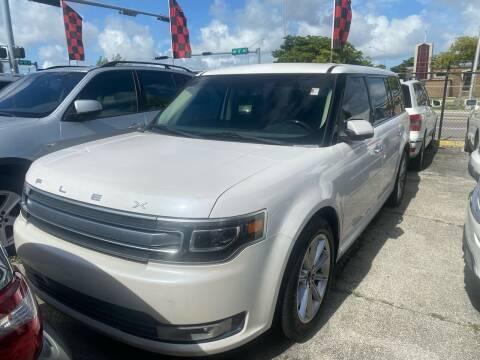2013 Ford Flex for sale at America Auto Wholesale Inc in Miami FL