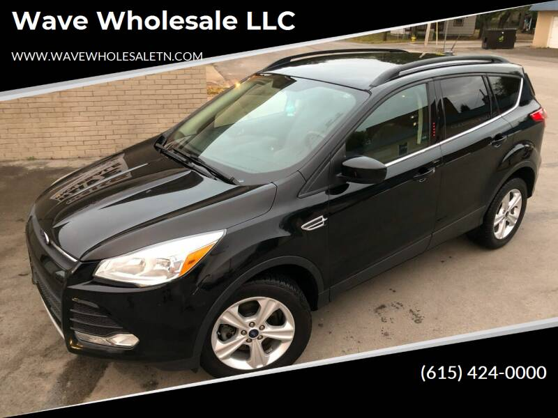 2016 Ford Escape for sale at Wave Wholesale LLC in Gallatin TN