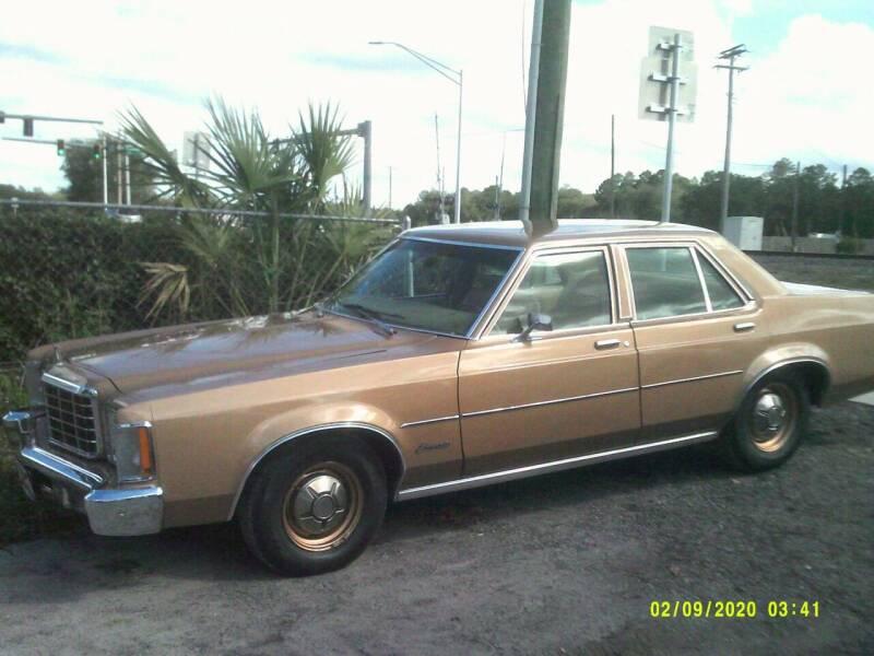 1975 Ford Granada for sale at ROYAL MOTOR SALES LLC in Dover FL