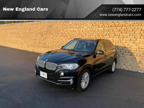 2014 BMW X5 for sale at New England Cars in Attleboro MA