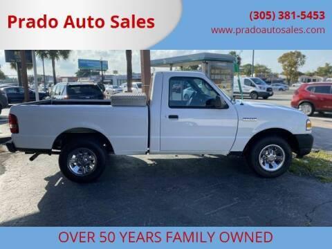 2009 Ford Ranger for sale at Prado Auto Sales in Miami FL