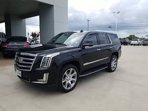 2017 Cadillac Escalade for sale at Jerry's Buick GMC in Weatherford TX