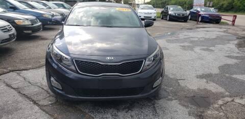 2015 Kia Optima for sale at Anthony's Auto Sales of Texas, LLC in La Porte TX