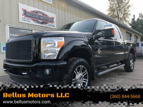 2015 Ford F-350 Super Duty for sale at Bellus Motors LLC in Camas WA