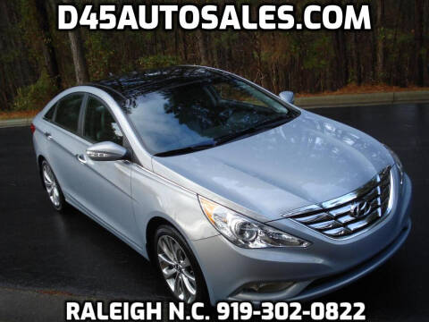 2012 Hyundai Sonata for sale at D45 Auto Brokers in Raleigh NC