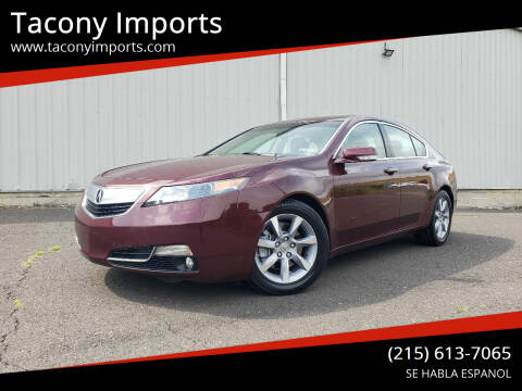 2012 Acura TL for sale at Tacony Imports in Philadelphia PA