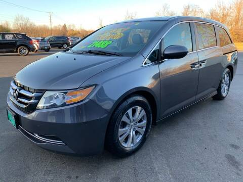 2016 Honda Odyssey for sale at FREDDY'S BIG LOT in Delaware OH