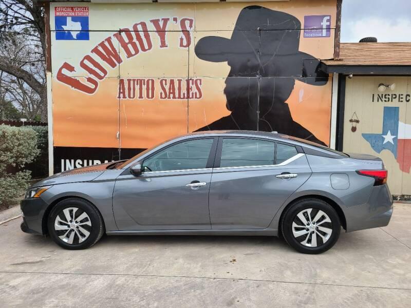 2020 Nissan Altima for sale at Cowboy's Auto Sales in San Antonio TX