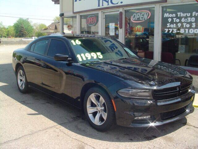 2016 Dodge Charger for sale at G & L Auto Sales Inc in Roseville MI