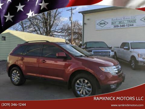 2007 Ford Edge for sale at RamKnick Motors LLC in Pekin IL