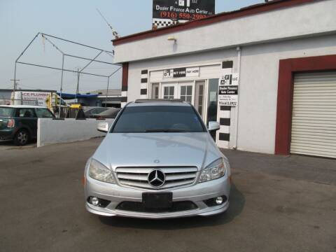 2008 Mercedes-Benz C-Class for sale at Dealer Finance Auto Center LLC in Sacramento CA