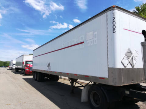 2000 TRAILMOBILE 45' BOX TRAILER for sale at Stan's Auto Sales Inc in New Castle PA