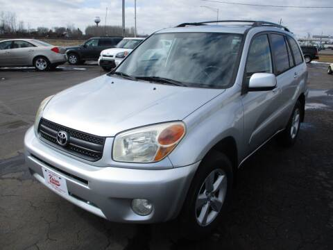 2004 Toyota RAV4 for sale at KAISER AUTO SALES in Spencer WI