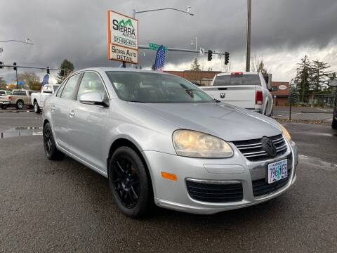 2007 Volkswagen Jetta for sale at SIERRA AUTO LLC in Salem OR