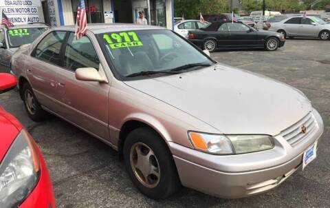 1998 Toyota Camry for sale at Klein on Vine in Cincinnati OH