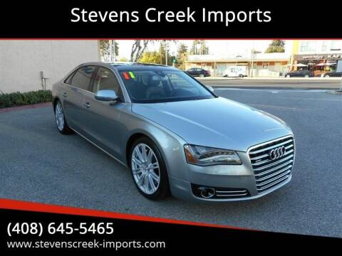 2011 Audi A8 L for sale at Stevens Creek Imports in San Jose CA