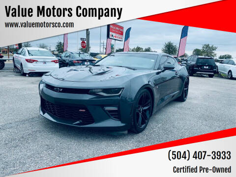 2016 Chevrolet Camaro for sale at Value Motors Company in Marrero LA