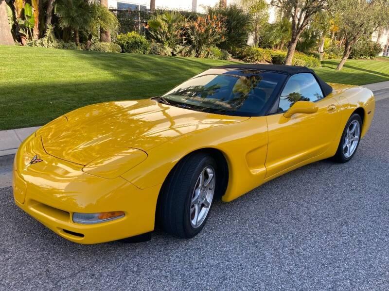 2001 Chevrolet Corvette for sale at Donada  Group Inc in Arleta CA