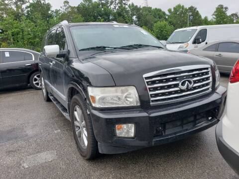 2008 Infiniti QX56 for sale at ULTIMATE AUTO IMPORTS in Longwood FL