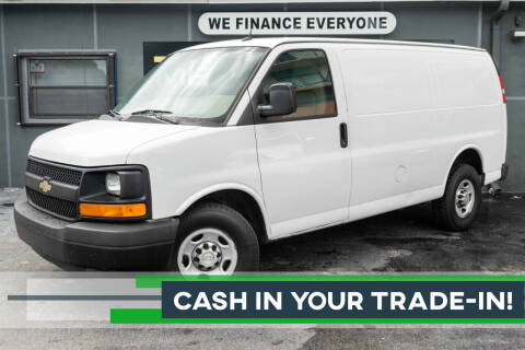 2014 Chevrolet Express Cargo for sale at Meru Motors in Hollywood FL