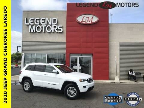 2020 Jeep Grand Cherokee for sale at Legend Motors of Detroit - Legend Motors of Ferndale in Ferndale MI