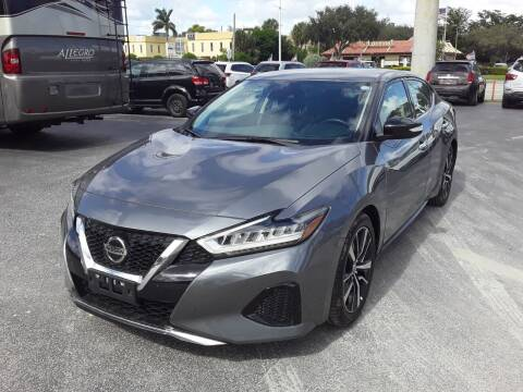 2020 Nissan Maxima for sale at YOUR BEST DRIVE in Oakland Park FL