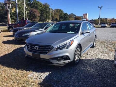 2015 Hyundai Sonata for sale at Wholesale Auto Inc in Athens TN