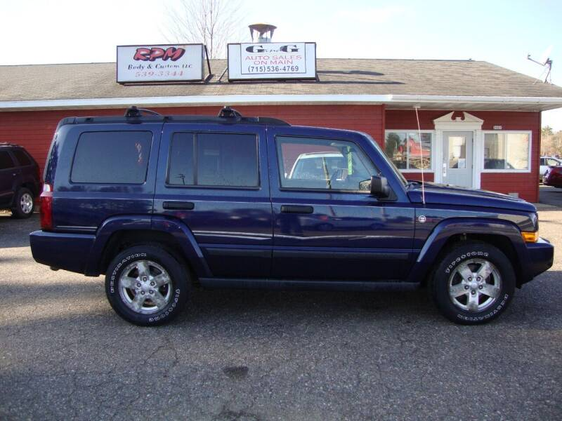 2006 Jeep Commander for sale at G and G AUTO SALES in Merrill WI