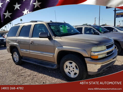 2004 Chevrolet Tahoe for sale at 48TH STATE AUTOMOTIVE in Mesa AZ