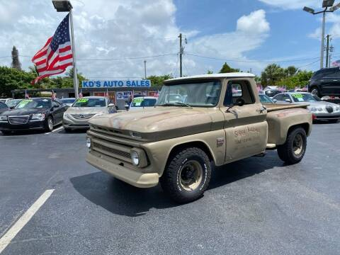 1966 Chevrolet C/K 10 Series for sale at KD's Auto Sales in Pompano Beach FL
