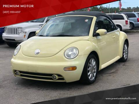 2005 Volkswagen New Beetle for sale at PREMIUM MOTOR in Orlando FL