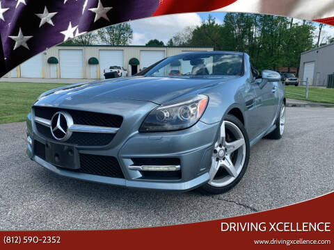 2013 Mercedes-Benz SLK for sale at Driving Xcellence in Jeffersonville IN