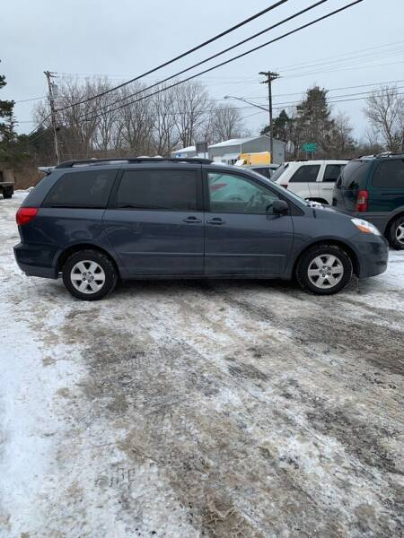 2008 Toyota Sienna for sale at GASPORT AUTO SALES AND SERVICE,INC in Gasport NY