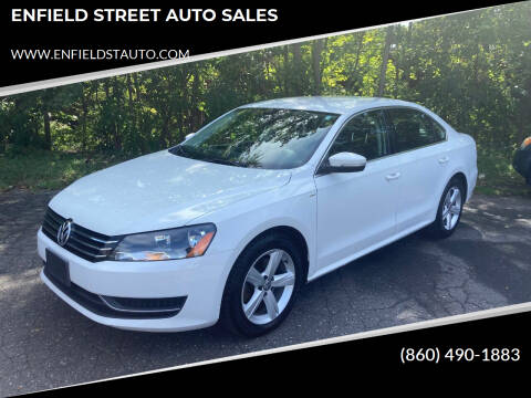 2014 Volkswagen Passat for sale at ENFIELD STREET AUTO SALES in Enfield CT