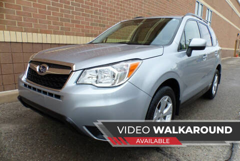 2015 Subaru Forester for sale at Macomb Automotive Group in New Haven MI