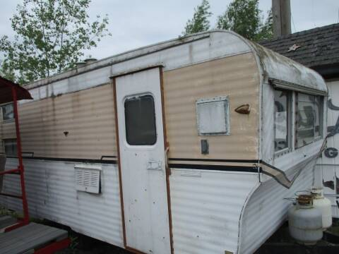 1966 camper  project  for sale at Marshall Motors Classics in Jackson MI