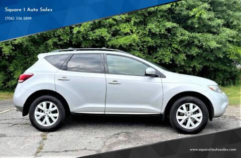 2011 Nissan Murano for sale at Square 1 Auto Sales - Commerce in Commerce GA