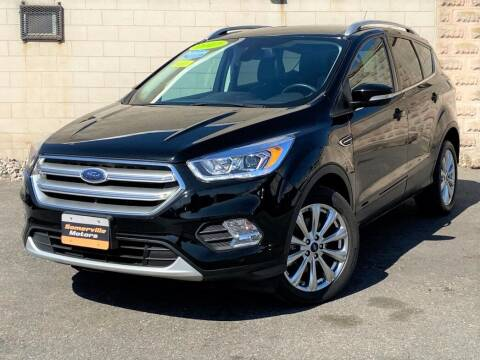 2017 Ford Escape for sale at Somerville Motors in Somerville MA