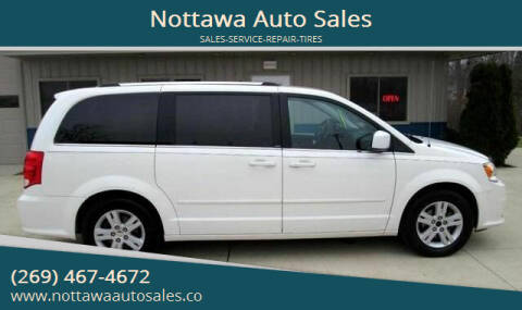 2011 Dodge Grand Caravan for sale at Nottawa Auto Sales in Nottawa MI