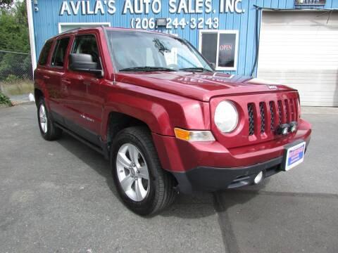 2012 Jeep Patriot for sale at Avilas Auto Sales Inc in Burien WA