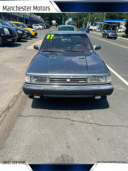 1987 Toyota Cressida for sale at Manchester Motors in Manchester CT