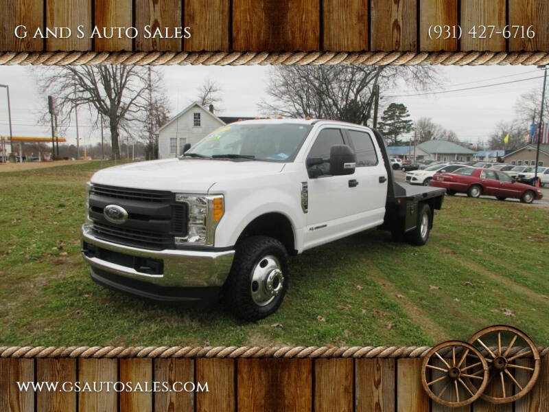 2017 Ford F-350 Super Duty for sale at G and S Auto Sales in Ardmore TN