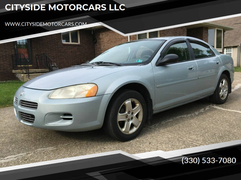 2002 Dodge Stratus for sale at CITYSIDE MOTORCARS LLC in Canfield OH