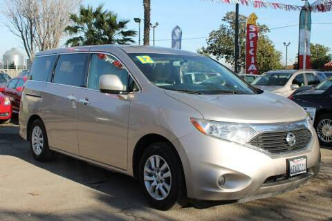 2012 Nissan Quest for sale at EXPRESS CREDIT MOTORS in San Jose CA