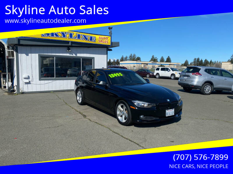 2015 BMW 3 Series for sale at Skyline Auto Sales in Santa Rosa CA